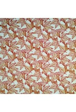 Autumn Leaves Jacquard, Red