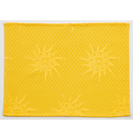 TOS BB Jacquard Placemat, Yellow