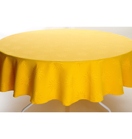 SAF BB Yellow Jacquard, Round