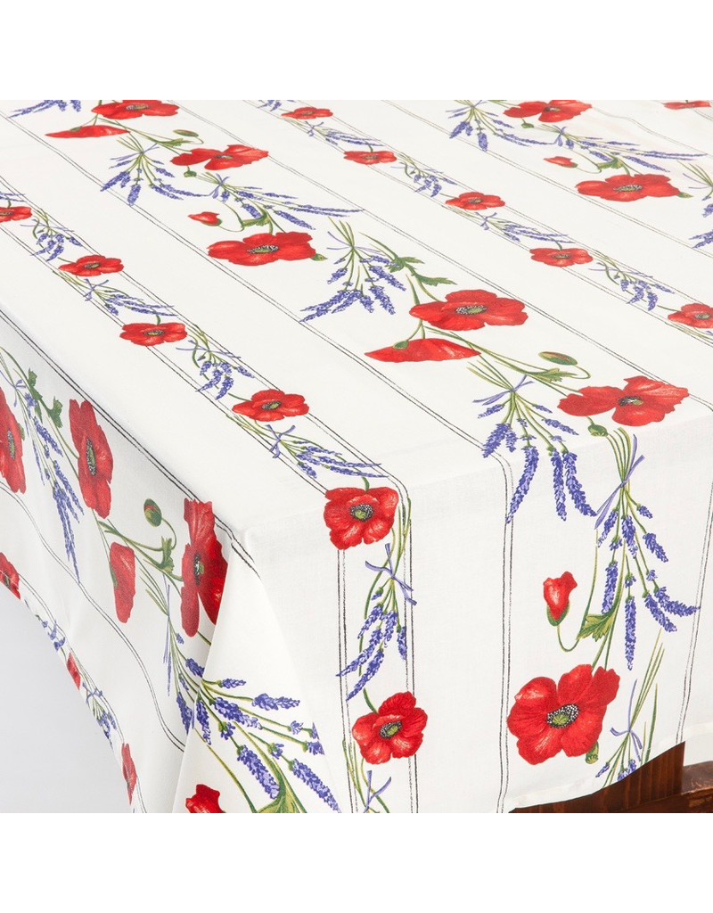 TOS Acrylic-coated Poppies Ivory