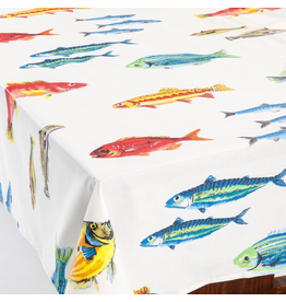 Amelie Michel Acrylic-Coated Calanques Fish, Multicolor