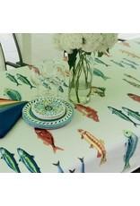 MFT Acrylic-Coated Calanques Fish Multicolor