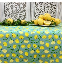 Amelie Michel Acrylic-Coated Mini Citrons, Turquoise