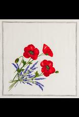 TOS Napkin Poppies Ivory