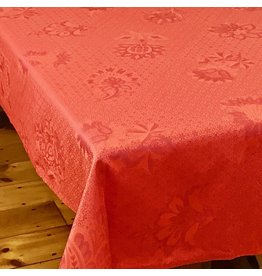 TOS Acrylic-Coated Ribeauville Jacquard, Red