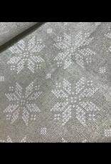 Amelie Michel Acrylic-Coated Longeverne Snowflakes, White,