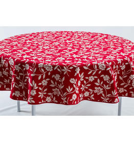 GEO Mercurio Reversible Jacquard Round, Red