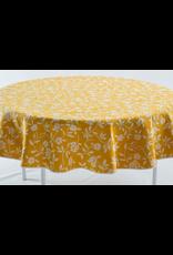 GEO Mercurio Reversible Jacquard Round, Yellow