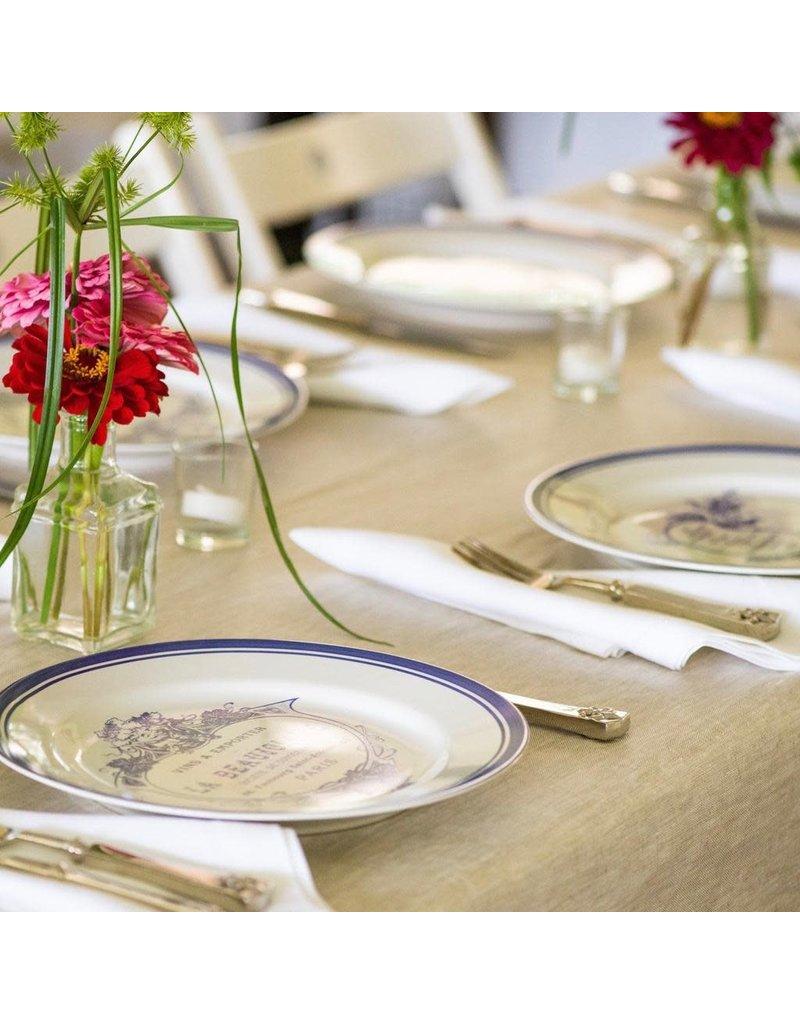 Amelie Michel 100% Linen Tablecloth