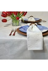 AIT Acrylic-coated Klimt Floral, White