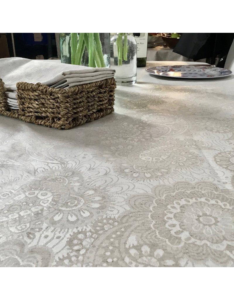 AIT Acrylic-coated Klimt Floral, Linen