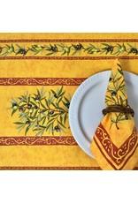 Amelie Michel Acrylic-Coated Olives, Yellow