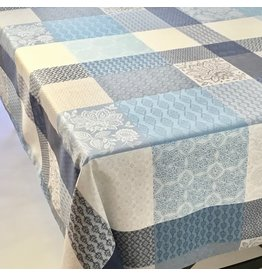 TOS Acrylic-Coated Sisteron Patch Jacquard, Blue