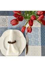 Amelie Michel Acrylic-Coated Sisteron Patch Jacquard, Blue