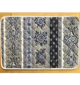 TOS Placemat, Acrylic-Coated Bastide, Navy