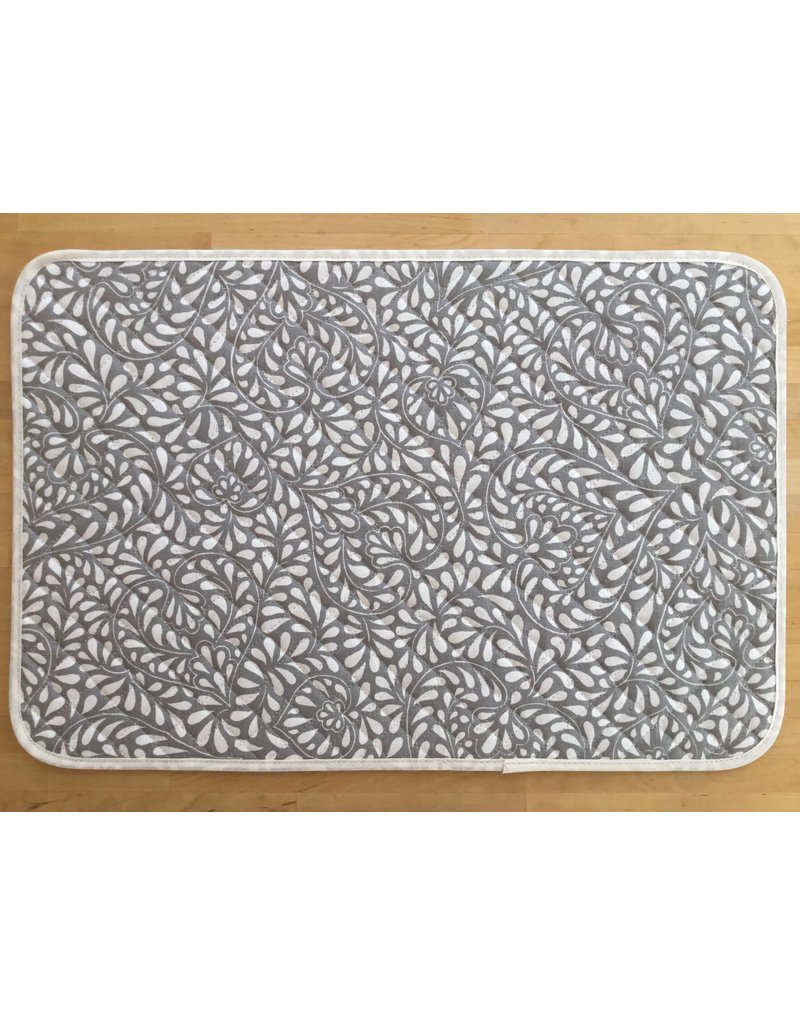 TOS Placemat, Acrylic-Coated Courmayeur, Grey