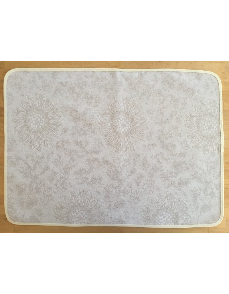 Placemat, Jacquard, Sunflower Linen