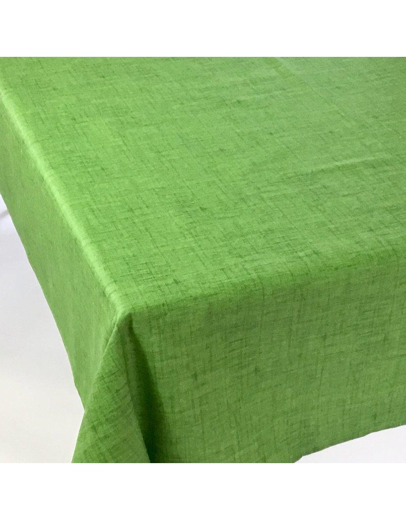 "Acrylic-Coated Olimpia ""Linen-Look"", Green"