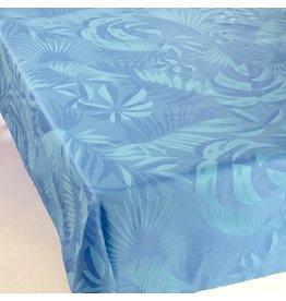 TOS Acrylic-Coated Balata Leaves Jacquard, Blue