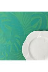 Amelie Michel Acrylic-Coated Balata Leaves Jacquard, Green