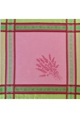 Napkin Senanque Jacquard Pink