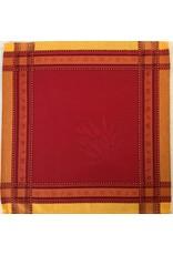 Napkin Senanque Jacquard Red