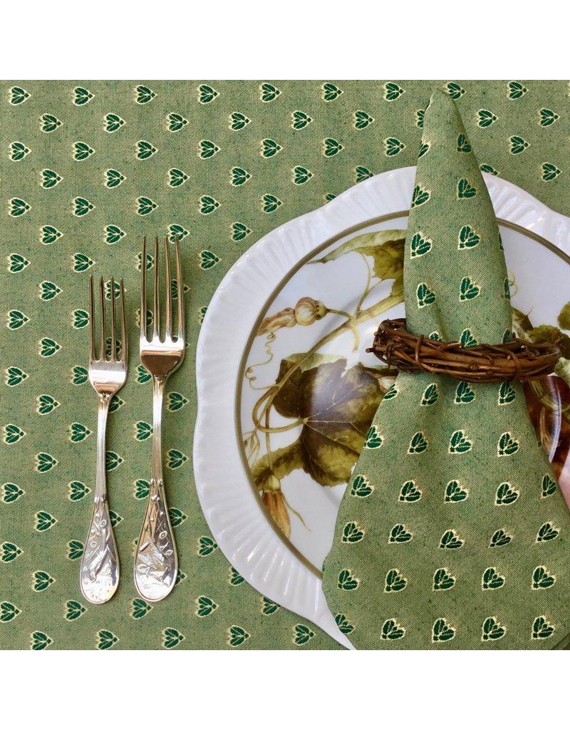 Napkin Small Bee Green