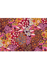 Amelie Michel Acrylic-Coated Martine Floral, Rose