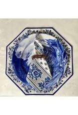 Napkin Bastide White/Blue