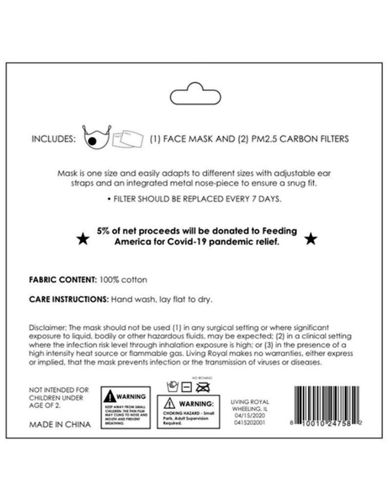 Kids Non-Surgical Mask & Carbon Filters