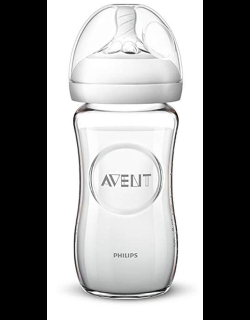 Philips Avent Natural Glass Bottle 8oz