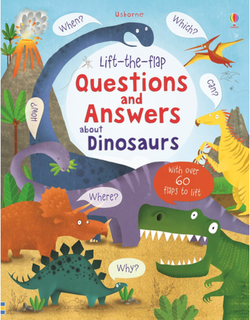Usborne Lift-the-flap Questions & Answers about Dinosaurs