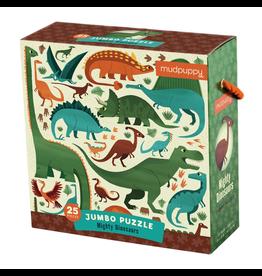 Mudpuppy Jumbo Puzzle Mighty Dinosaurs