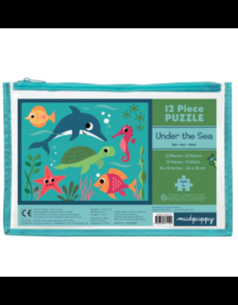 Mudpuppy 12 Piece Puzzle - Under the Sea