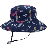 Mermaid Cotton Sunbaby Hat
