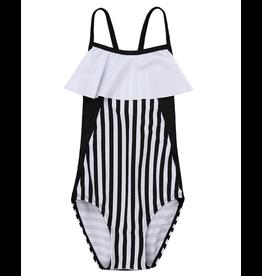 Turtledove London Colourblock Swimsuit 2-3Y