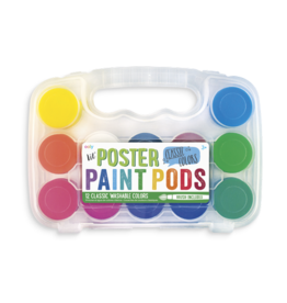 Ooly Lil Poster Paint Pods - 12