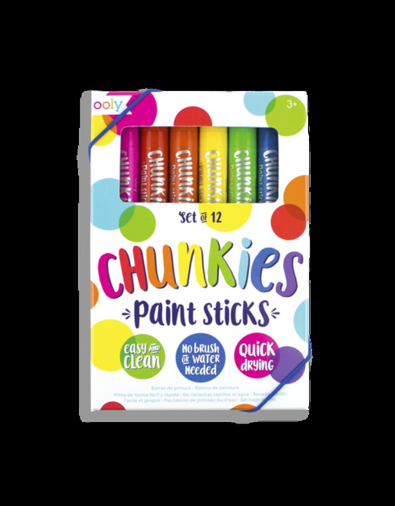Ooly Chunkies Paint Sticks - 12