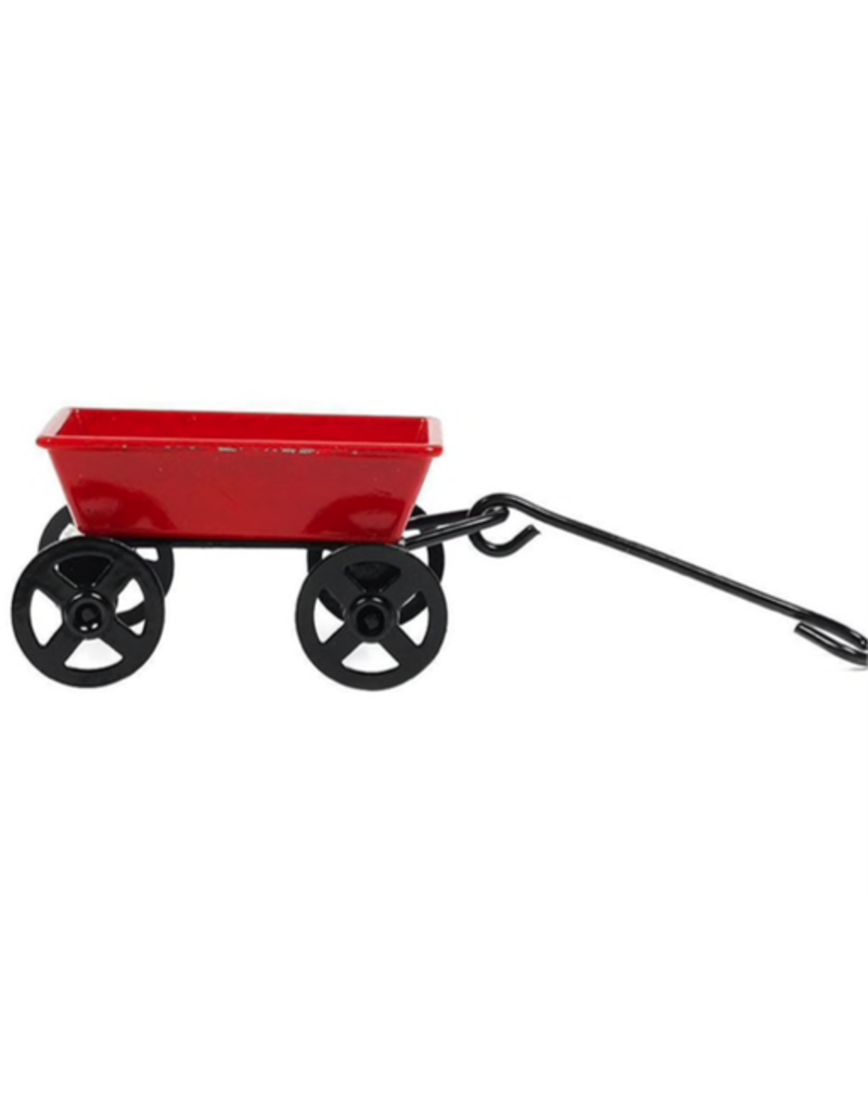 Dollhouse Iron Wagon 1:12