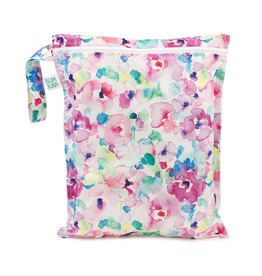 Wet Bag - Watercolour Flower