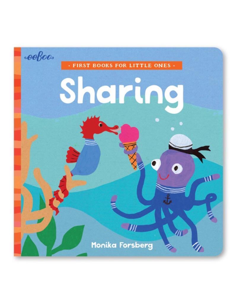Eeboo First Books for Little Ones Sharing
