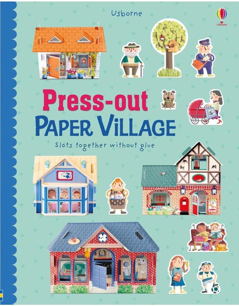 Usborne Press-Out Paper Village