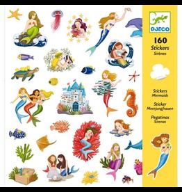 Djeco Mermaid Stickers