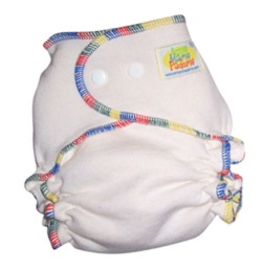 AMP Diapers Hemp Fitted Diaper Sm