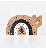 Wee Gallery Bamboo Nesting Animals - Bear