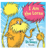 Random House I Am the Lorax Board Book