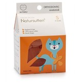 Natursutten Butterfly Ortho Soother, natural, S (0-6m)