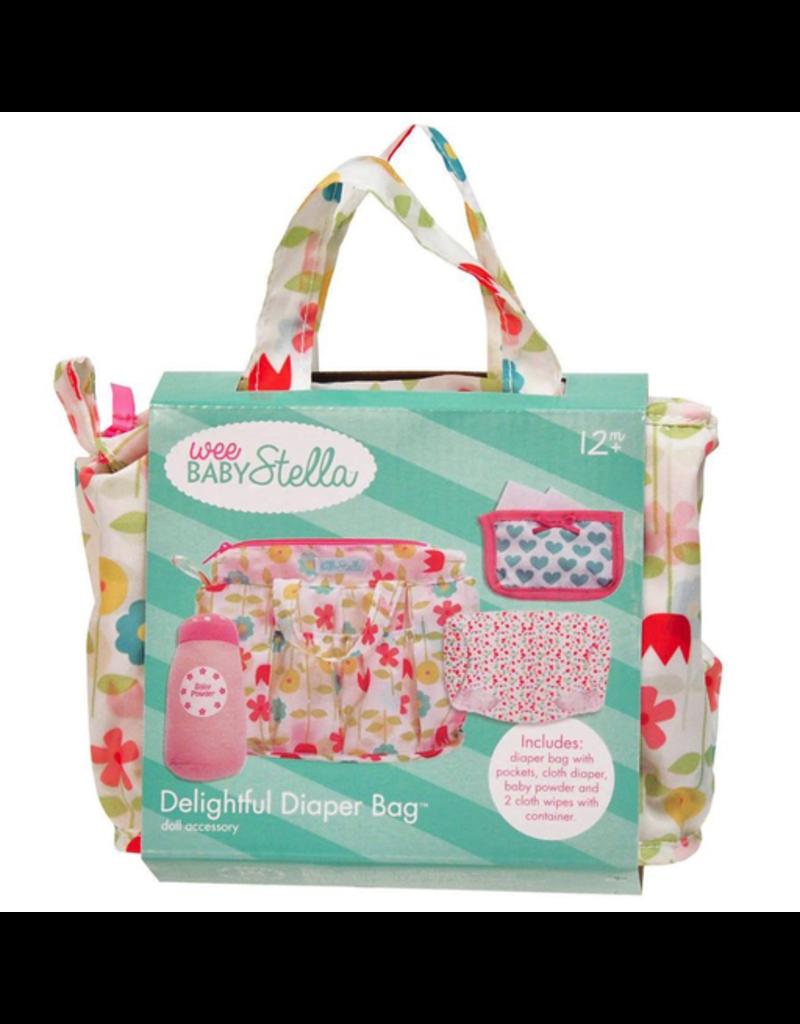 Manhattan Toys Wee Baby Stella Delightful Diaper Bag