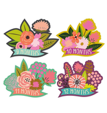 Lucy Darling Little Blossom Monthly Stickers 1-12