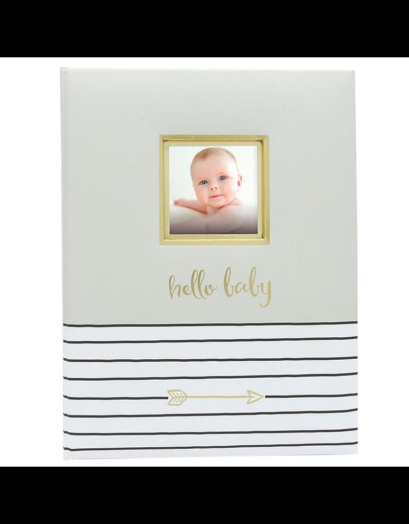 Hello Baby Book, Grey